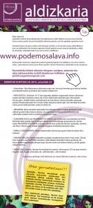 Boletín nº1 del CCM euskera