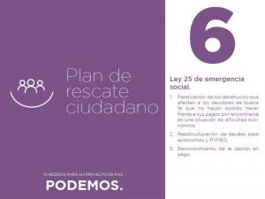 Plan de rescate ciudadano