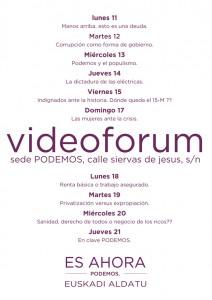 videoforumredes