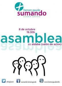 Asamblea 8 oct a 19:30 en Aldabe
