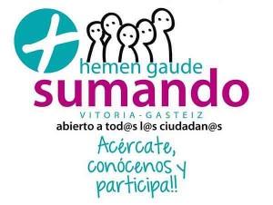 Logo de Sumando Hemen Gaude